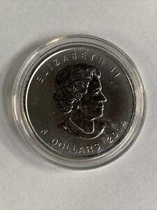 """""""2014 CANADA 5 DOLLAR"""" Elizabeth II 1 oz. .9999 Silver Coin"""