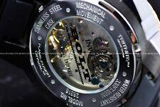 "RARE Invicta 52mm Bolt "" FIRE PHOENIX "" Mechanical Golden Dragon Silicone Watch"