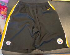 Men's Nike Dri Fit Pittsburgh Steelers Shorts (Large)
