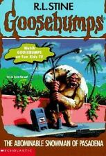 The Abominable Snowman of Pasadena (Goosebumps, No 38), Stine, R. L., 0590568752