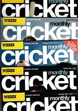 Various Issues of WISDEN CRICKET MONTHLY Magazine January 1993 to September 2003