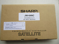 Sharp JW-64NC PLC DC Input Module NEW!!! in Sealed Factory Box Free Shipping