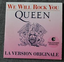 Queen, we will rock you / we are the champions, CD single