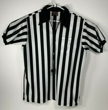 Red Fox Athletic Wear 1/4 Zip Men's Referee Shirt Size Xl Comes with whistle