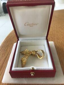 CARTIER GOLD BROOCH