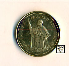 Canada 1984 Papal Visit John Paul II Gold Plated medal with COA and box, Wt-27g