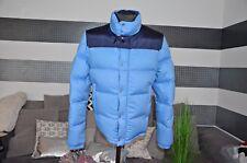 Moncler Jacke aus Baumwolle mit Daunen NP. 890€ Gr.XL -hellblau *neuwertig*