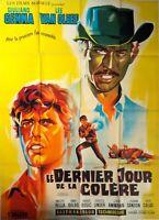 Plakat Kino Western Le Letzte Tag De La Zorn - 120 X 160 CM