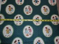 Bessie Pease Fabric Precious Memories Kids Cameo Allover by Flavia Co BTY