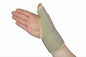 Medical Grade Thumb Wrist Hand Spica Splint Support Brace Stabiliser Arthritis