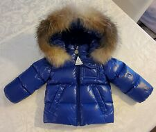 New Moncler K2 Fur Trim Hooded Jacket Baby, size 9/12, $555.00