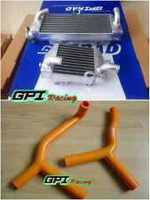 FOR KTM SX85 SX105 85 105 SX 2003-2012 04 05 06 Aluminum radiator +hose