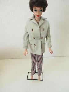 Mattel 1960's Brunette Bubble Cut Barbie - Made in Japan -#105