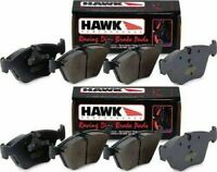 HAWK HP PLUS HP+ FRONT AND REAR BRAKE PADS FOR 1995-1999 BMW M3 2DR 4DR E36 Z3M