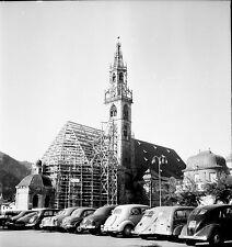 BOLZANO c. 1950 - Le Dom Italie - Négatif 6 x 6 - ITAL 21
