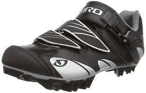 Giro Manta Bike Shoes Womens Black/Silver size 6.25 us  wide