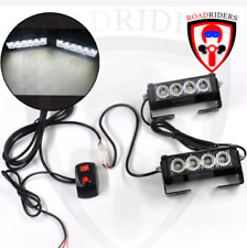 Roadriders' Pair of Four LED Flasher with Remote
