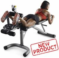 Home Gym Exercise Machine Leg Curl Equipment Fitness Olympic Bench Arm Bicep NEW