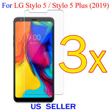3x Clear LCD Screen Protector Guard Cover Film LG Stylo 5 / Stylo 5 Plus (2019)