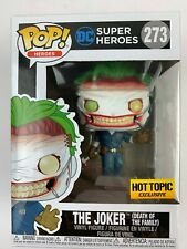 JOKER Death of the Family Funko POP 273 NEW 2019 HT Exclusive w/ POP PROTECTOR