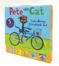 Pete the Cat Take-Along Storybook Set: 5-Book 8x8 Set by James Dean (Paperback, 2017)