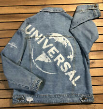 Universal Studios Blue Jeans Jacket Size 8 / MEDIUM Hollywood Studios Pre-owned