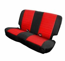 Jeep Wrangler JK XRC Rear Seat Cover Black/Red 2008-17 4 Door Smittybilt 758230