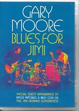 DVD ALL ZONES--GARY MOORE--BLUES FOR JIMI HENDRIX - GUEST MITCH MITCHELL & COX
