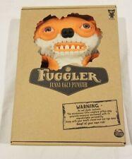 "RARE Fuggler Suspicious Fox Orange & White 9"" Stuffed Animal Plush  Spin Masters"
