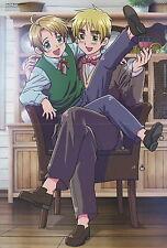 Hetalia world series / Inazuma Eleven poster promo USA UK Afuro Terumi Gazeru