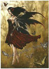 "Nene Thomas Fairy Print Flamenco Dancer Spanish Faery 5"" x 7"" Butterfly"
