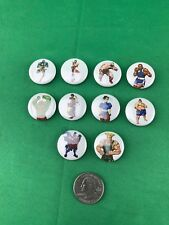Street Fighter Pin Lot Of 10 Buttons