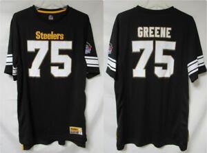 Pittsburgh Steelers Mean Joe Greene #75 Men's Size Large Jersey Shirt A1 3954