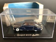 NoRev PEUGEOT 203 1:43 Scale Blue Collectible Car #470503 W/Orig Box