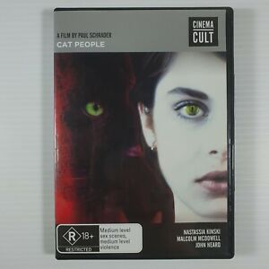 Cat People DVD Region 4 Horror Paul Schrader Cinema Cult