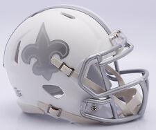 NFL Football Americano New Orleans Saints Riddell GHIACCIO alternativo MINI CASCO