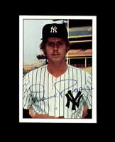 Dave Pagan Hand Signed 1975 SSPC New York Yankees Autograph