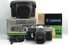 @ Ship in 24 Hours! @ Discount! @ Canon Canonflex RM SLR Film Camera Box Set