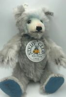 "Rare 11"" Steiff 1992/93 CLUB Teddy Baby Bear Blau 28 Blue 420016 Signed S1"