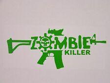 Zombie Killer funny car van, bumper, windows, lorry JDM vinyl decal sticker