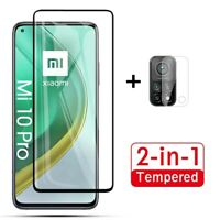 For Xiaomi Mi 10T/10T Pro 5G Tempered Glass Screen Protector + Camera Lens Film