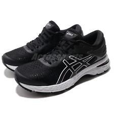 Asics Gel Kayano 25 Black Grey Women Running Training Shoes Sneaker 1012A026-003