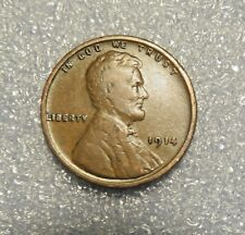 ONE 1914 P LINCOLN WHEAT CENT -------------> VF