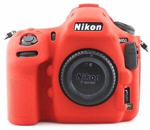 Camera Silicone Case Cover for Nikon D5300 D5500 D5600 D90 D7200 D7500 D810 D850