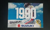 Gran Póster Moto Rango Suzuki 1990 Prospecto Folleto Volante Deportivo Cruz