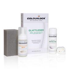 Colourlock Glattleder Pflegeset mild Reiniger, Protector,Schwamm & Tuch