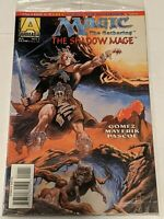 Magic The Gathering Shadow Mage #1 July 1995 Armada Acclaim Comics In Bag w Card