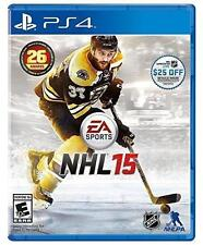 NHL 15   (Sony PlayStation 4, 2014)   Complete   Fast Shipping !   PS4