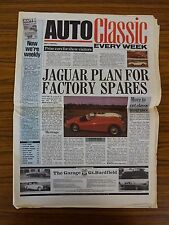 Auto Classic Newspaper: May 2 1990: Jag To Make XK Parts Again