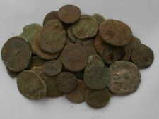 More details for qty 40 roman bronze coins (uncleaned/unidentified)